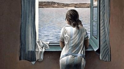 """Il dipinto del 1923: chi è la """"Ragazza alla finestra"""" di Salvador Dalí?"""