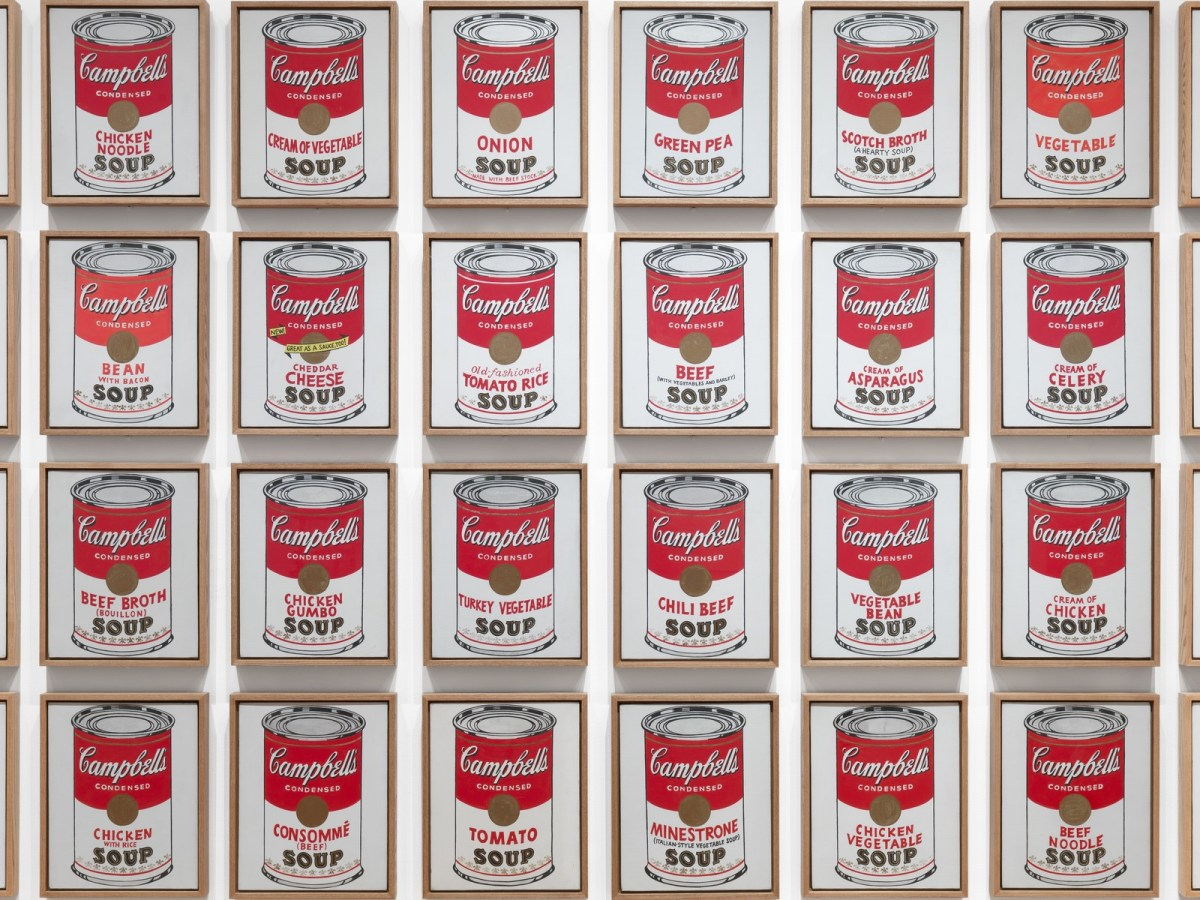Campbell's Soup Cans di Andy Warhol
