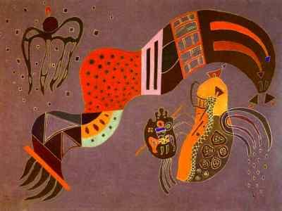 Slancio moderato di Vasilij Kandinskij