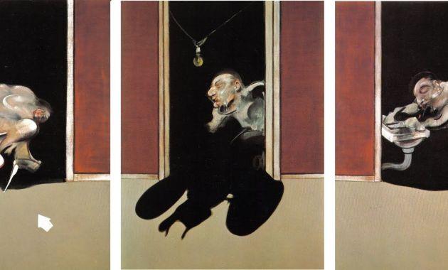 Il dipinto del 1973: il Trittico di Francis Bacon in memoria del suo amato George Dyer