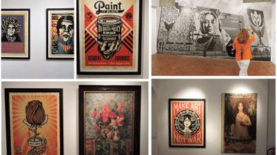 Obey, Shepard Fairey, Galleria d'Arte Moderna a Roma