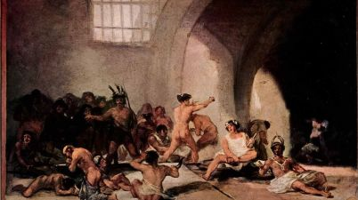 Il dipinto del 1819: La casa dei matti di Francisco de Goya