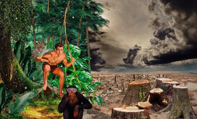 Arte di scarto, a Tivoli una mostra di collage digitali ispirata alle fiabe