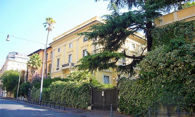 Villino Casati, un gioiello liberty nel quartiere Sallustiano