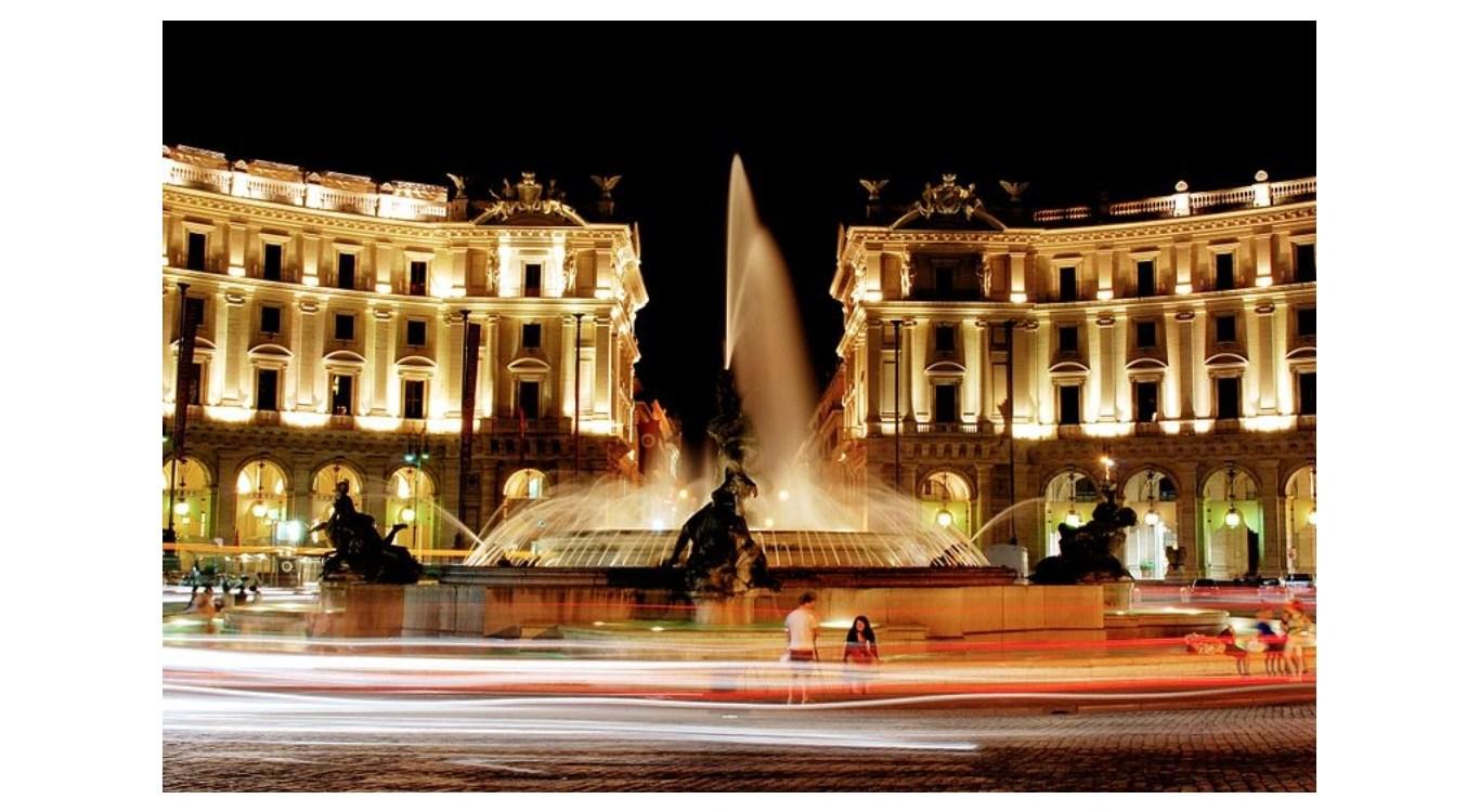 Fontana delle Naiadi di Roma, Piazza della Repubblica