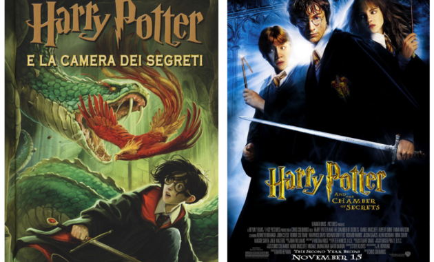 Libri e film a confronto – Harry Potter e la Camera dei Segreti di J.K. Rowling