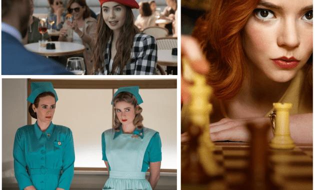 Tre nuove serie tv da non perdere: Ratched, Emily in Paris, La regina di scacchi