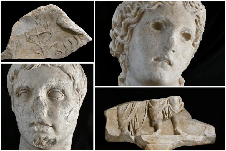 Reperti di Roma Antica in via Alessandrina