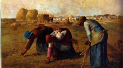 Il dipinto del 1857: Le Spigolatrici di Jean-François Millet