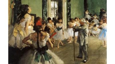 Classe di danza di Edgar Degas