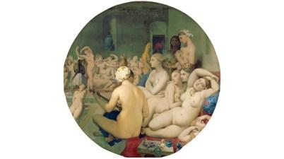 Il dipinto del 1862: Il bagno turco di Jean-Auguste-Dominique Ingres