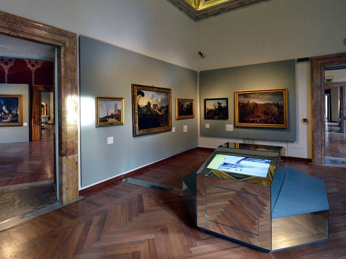 Palazzo Braschi, tavolo permanente, musei, roma,