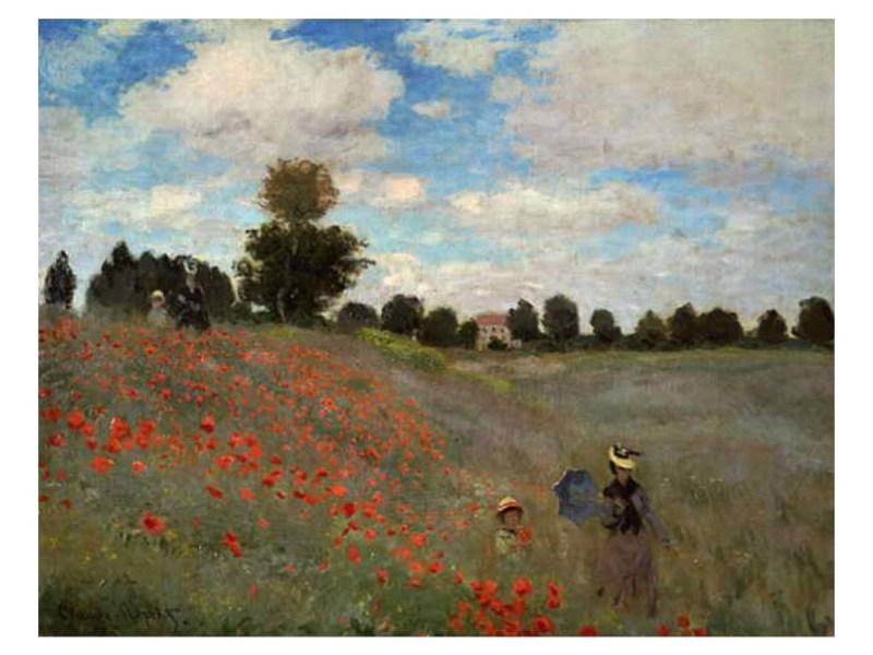 I papaveri di Claude Monet