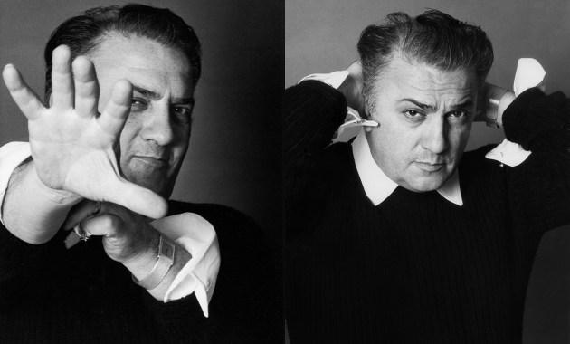 Federico Fellini, fotografia di Elisabetta Catalano