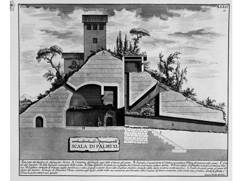 Monte del Grano, dove si nasconde il Mausoleo dell'imperatore Alessandro Severo