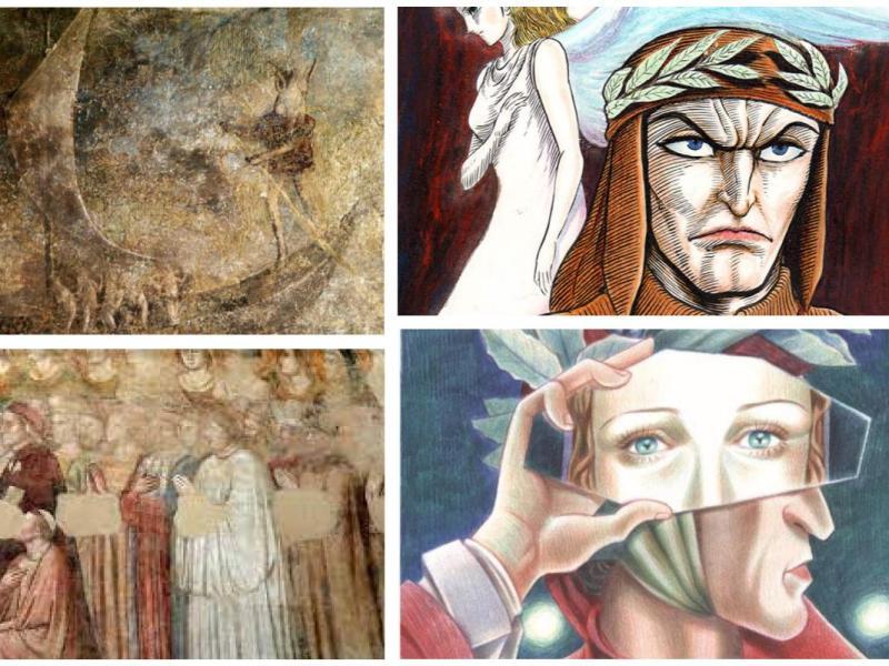 Dante Alighieri, mostre online,