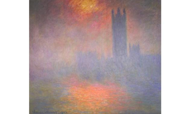 Il dipinto del 1904 - Il Parlamento di Londra di Claude Monet