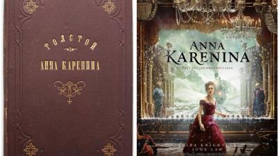 Libri e film a confronto – Anna Karenina di Lev Tolstoy e il film di Joe Wright