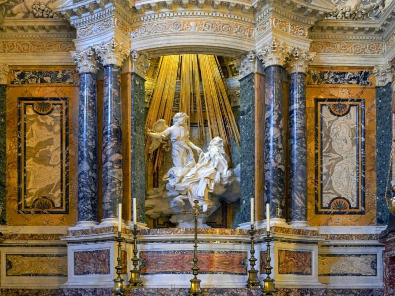 Estati di Santa Teresa d'Avila di Gian Lorenzo Bernini