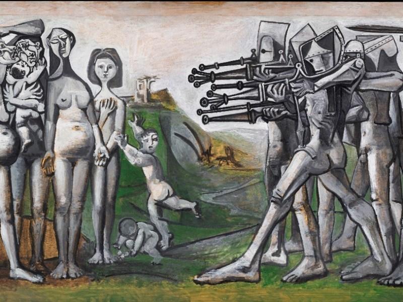Massacro in Corea, Pablo Picasso,
