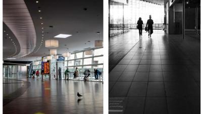 le foto di Riccardo Cattani e di Teresa Mancini in una duplice mostra dedicata al viaggio