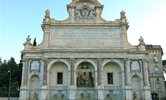 Fontanone dell'Acqua Paola, Roma