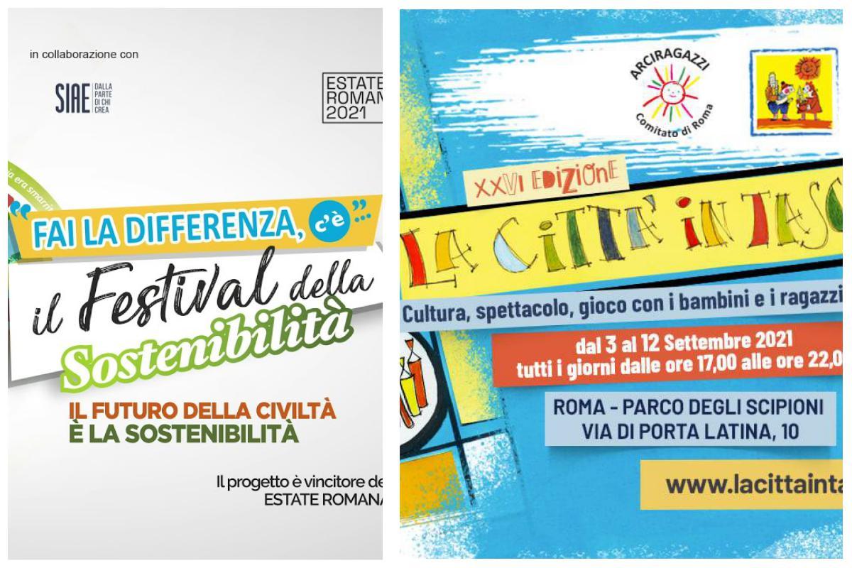 """Ultimi appuntamenti per il """"Festival della Sostenibilità"""" e """"La città in tasca"""", tra auto riciclate, esposizioni """"eco"""", musica e laboratori ludici"""