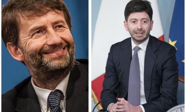 Scontro Speranza - Franceschini su capienza del pubblico in cinema, teatri e musei