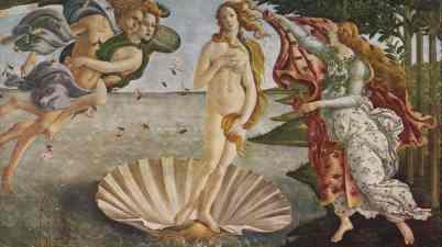 Storia dell'arte – La Nascita di Venere, capolavoro del Rinascimento Italiano di Sandro Botticelli