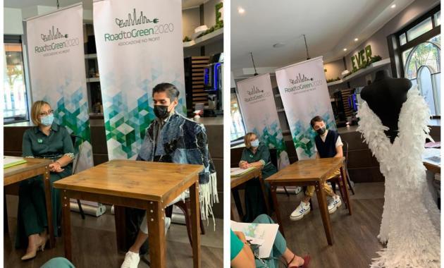 Il poncho sostenibile di Carlos Miguel Commettant Arrieta vince il contest Road to Green 2020. Gli altri premi e i finalisti