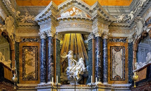 Torna a la Cappella Cornaro di Bernini con l'Estasi di santa Teresa d'Avila