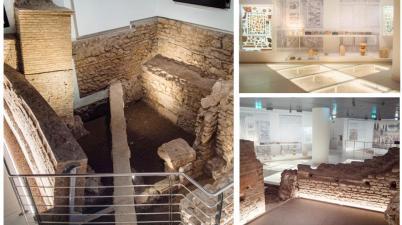 Apreil Museo del ninfeo, la Domus Aurea di Caligola