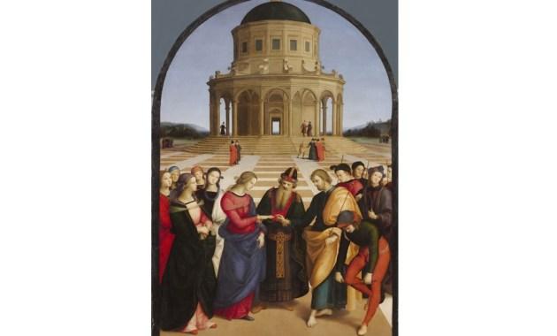 Storia dell'arte – Lo Sposalizio della Vergine, il capolavoro del giovane Raffaello Sanzio