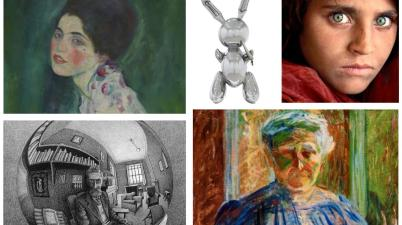 Cinque mostre in Italia - Jeff Koons, Klimt, Escher, Steve McCurry e Boccioni