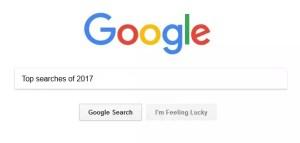 Top 10 Google Searches 2017