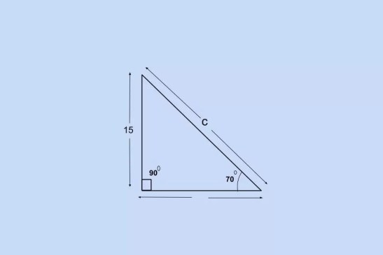 How to Find Hypotenuse when we know a Side and an Angle