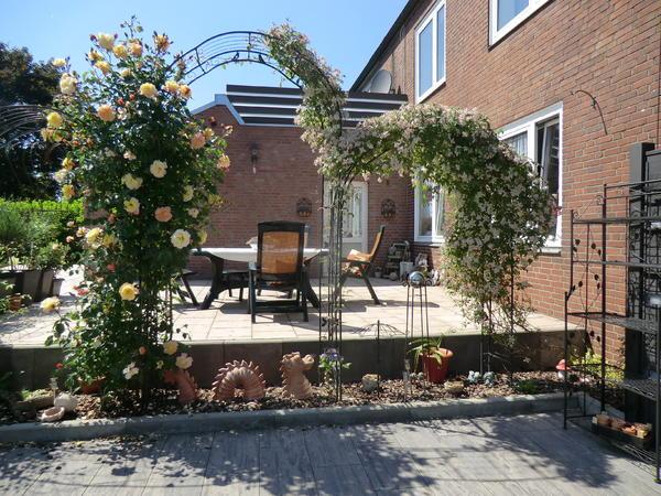 Terrassentrennwand wie verschönern??? - Mein schöner Garten Forum
