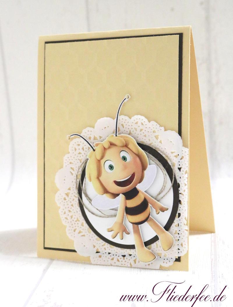 Working mom {Eine Biene kommt selten allein ... - Biene Maja Einladungskarten