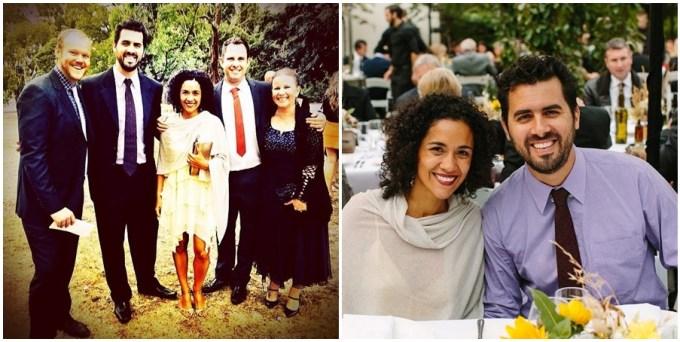 Casamento da Leoni e do Joshua. Ela faz parte da equipe de developers do Diego.