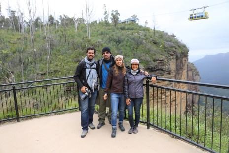 A trilha dentro do Scenic World é bem curta, mas a vista é linda. Há outras trilhas mais longas pra explorar outros pontos do parque nacional.
