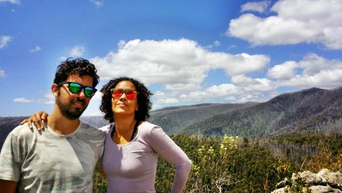 Também no Cathedral Range State Park. Amamos nossos óculos de sol super coloridos!! A marca é STUN dos EUA e os óculos custam de 9 a 30 dólares, super barato ;)