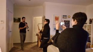 Fabiano e Diego jamming!
