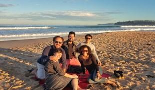 Mais amigos que nos visitaram: Renata, Fabiano e Zero; amor na sua mais prânica forma