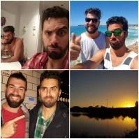 Ele e o irmão, é muito amor junto. Estamos muito felizes com a decisão do Igor de vir morar na Austrália, ter família perto é uma honra.