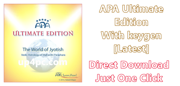 APA Ultimate Edition 5.6.24 With keygen [Latest]