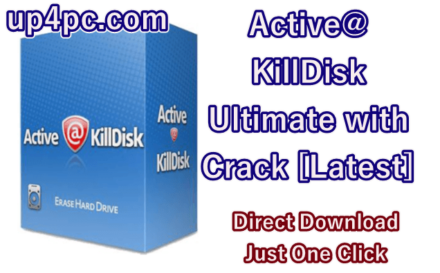 Active@ KillDisk Ultimate 12.0.25 with Crack [Latest]