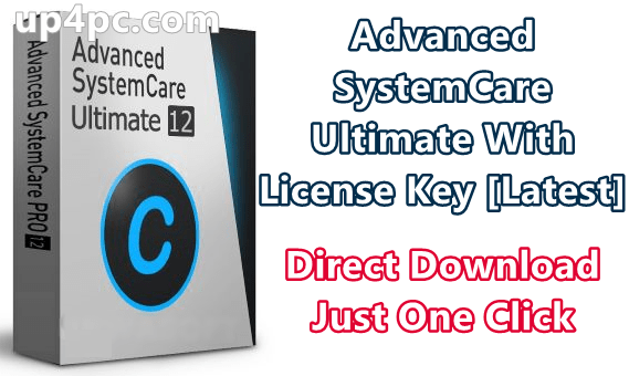 Advanced SystemCare Ultimate 12.3.0.161 With License Key [Latest]