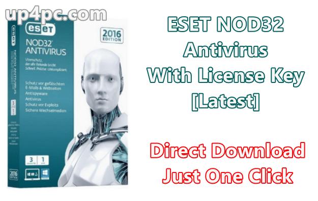 ESET NOD32 Antivirus 13.0.22.0 With License Key [Latest]