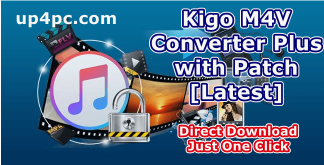 Kigo M4V Converter Plus 5.5.7 with Patch [Latest]