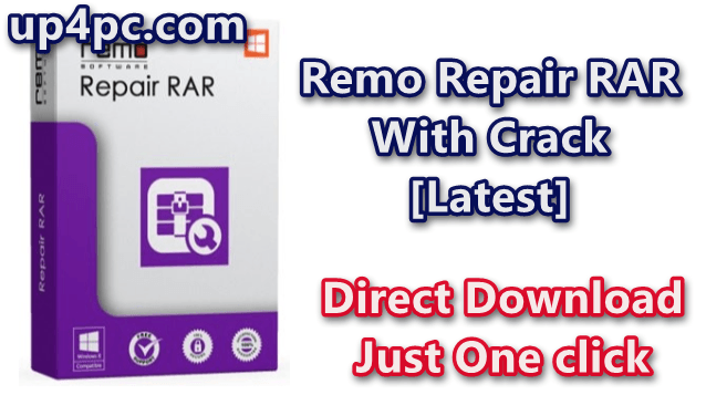 Remo Repair RAR 2.0.0.20 With Crack [Latest]